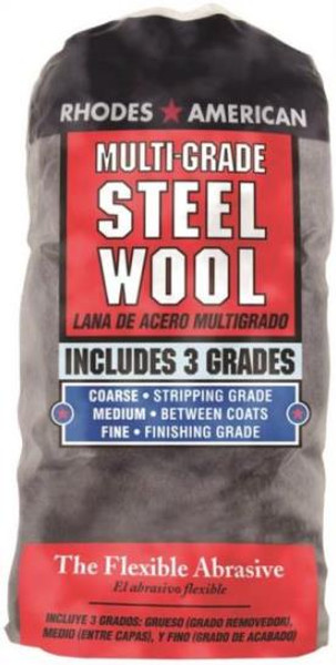 Steel Wool Pads, Assortment Pack