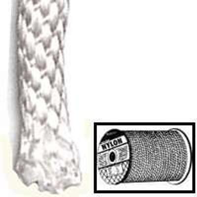 """Rope, 1/8"""" x 1' Braided Nylon Rope Per Foot"""