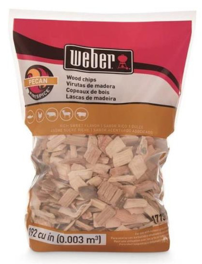 Smoking Wood Chips Pecan, 2 Lb