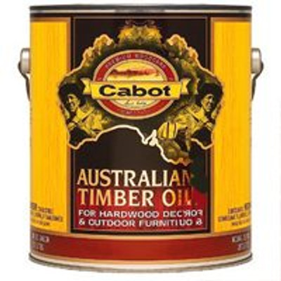 Cabot, Australian Timber Oil, Honey Teak, Gallon