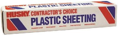 Plastic Sheeting, 2 Mil, 12' x 200', Clear