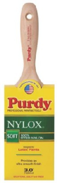 "Purdy, Nylox-Swan, 3"",  Paint Brush"