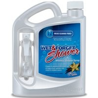 Wet & Forget, Indoor, Mol/Mildew Cleaner, RTU,1/2 Gallon Spray