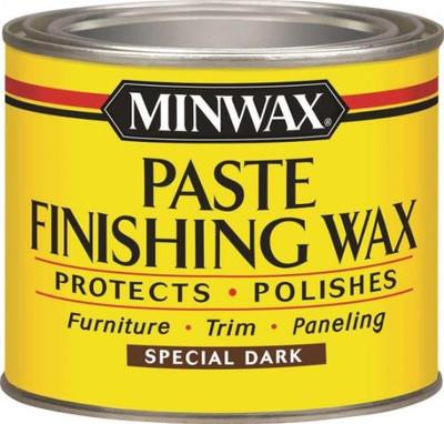 Minwax, Paste Wax, Dark Wood, 1 Lb