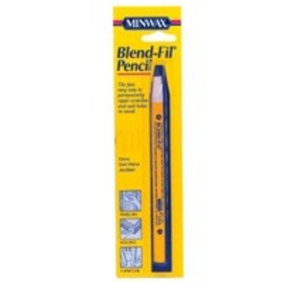 Minwax Blend-Fil Pencil #6 Colored Wood Filler, Walnut