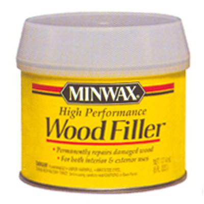 Minwax 2 Part Wood Filler, 6 Oz