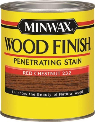 Minwax, Red Chestnut, Wod Stain, Quart