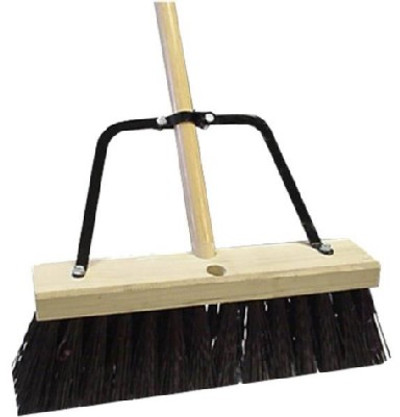 Quickie, Model 00649HDSUTRI, Industrial All Purpose Push Broom, 16""