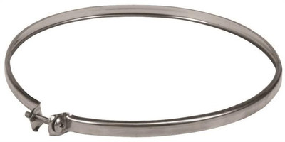 """Stove Pipe, 6"""" Locking Band, Stainless Steel"""