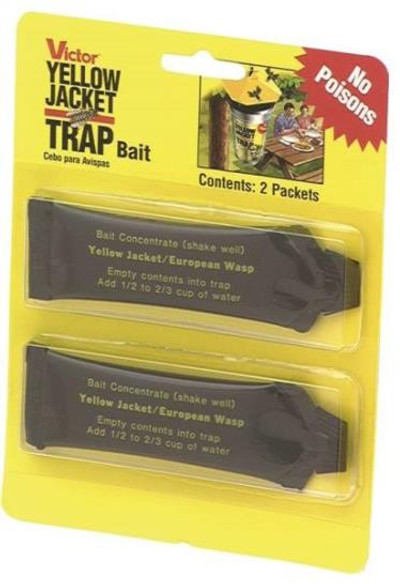 Yellow Jacket Bait, 2 Pack