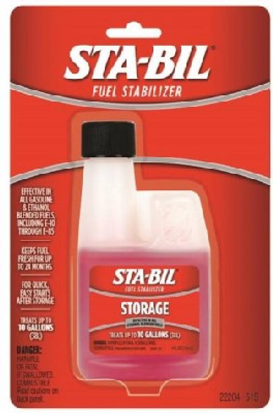 Sta-Bil, Fuel Stabilizer, 4 Oz