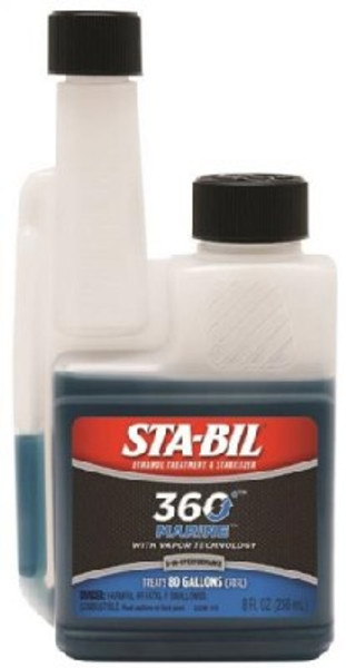 Sta-Bil, Marine Formula Fuel Stabilizer, 8 Oz, Blue/Green