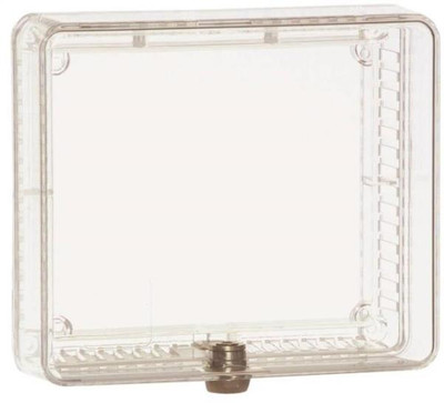 "Thermostat Clear Cover, With Lock, 7-1/4"" x 9-3/4"""