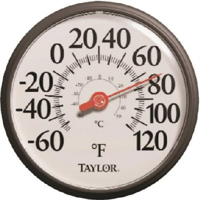 """Thermometer, Outdoor, """"Bold Type"""",  12"""""""