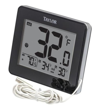 Thermometer, Indoor/Outdoor Digital,Wired