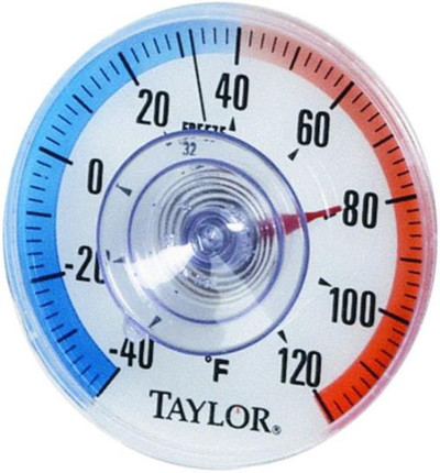 Thermometer, Stick-on Window,