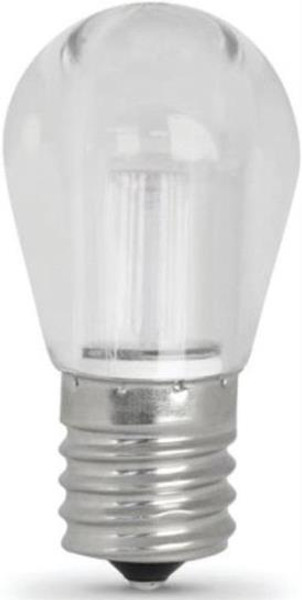 LED, E17, 80 Lumens, 1.5 Watts, Non Dimmable, Warm White