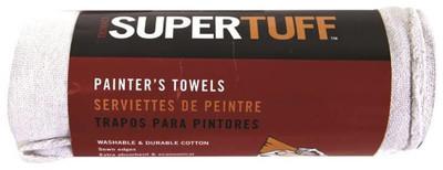 """Painter's Towel, Cotton Fiber, 13"""" x 14"""", 7 Pack"""