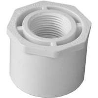 "SCH 40, Slip x Threaded Bushing, 1-1/2"" x 3/4"""