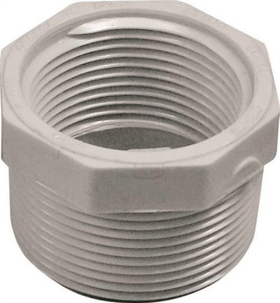 "SCH 40, Threaded Bushing, 1-1/2"" x 1-1/4"""
