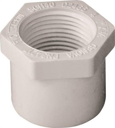 "SCH 40, Slip x Threaded Bushing, 1"" x 3/4"""