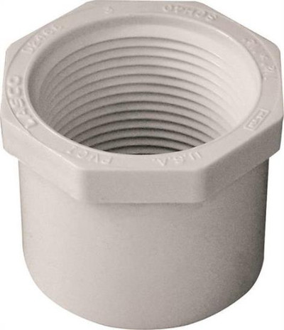 "SCH 40, Slip x Threaded Bushing, 1-1/2"" x 1-1/4"""