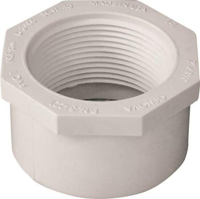 "SCH 40, Slip x Threaded Bushing, 2"" x 1-1/2"""