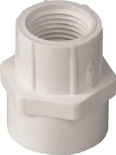 "SCH 40, 1"", Female Adapter x 3/4"" FPT"