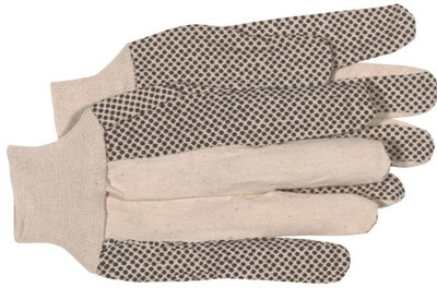 Gloves, Canvas With Dots Large