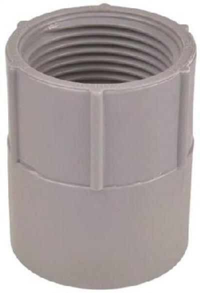 "PVC Conduit, 1/2"", Female Adapter, SCH 40"