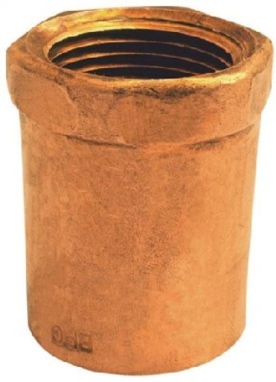 """Copper Fitting, 1/2"""", CXF, Adapter x 3/4"""" FPT"""