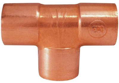 "Copper Fitting, 3/4"", CXC, Tee"