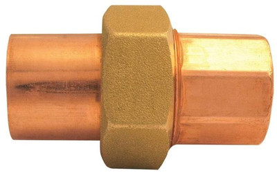 "Copper Fitting, 1"", CXC, Union"