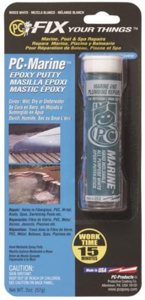 PC-Marine Epoxy Paste, White, 2 Oz