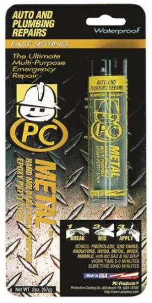 PC-Metal Epoxy, 2 Oz, Dark Gray Color