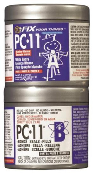 PC-11 Epoxy Paste, 1/2 Lb, Off White Color