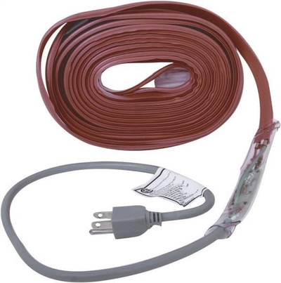 Water Pipe Electric Freeze Protection Cable, 30'