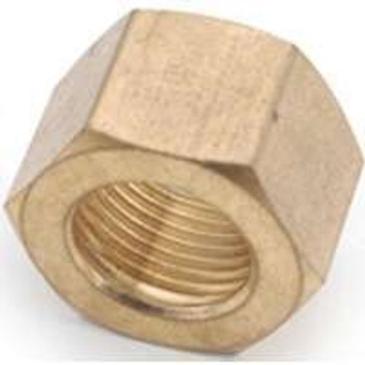 "Compression Fittings, 1/4"", Nut, Brass"