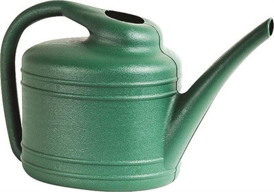 Watering Can, Gallon, Green, Plastic