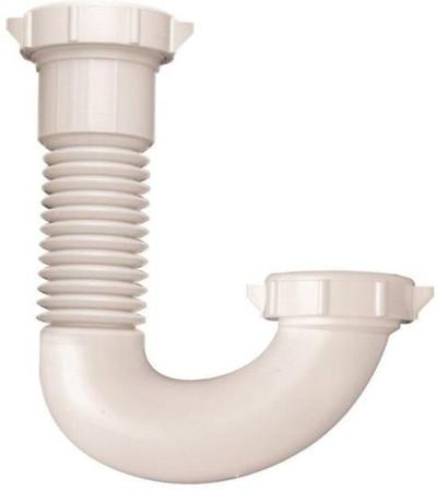 """PVC Tubular, J Bend, 1-1/2"""" - 1-1/4"""""""
