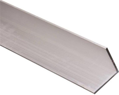 "Aluminum Angle, 2"" x 2"" x 96"", Mill Finish"