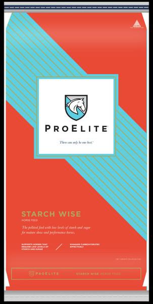ProElite, Starch Wise, Equine Feed, 13% Pellet, 50 Lb