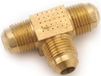 """Flare Fittings, 5/8"""", Tee, Brass"""