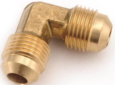 """Flare Fittings, 3/8"""", Elbow, Brass"""