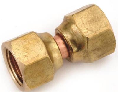 """Flare Fittings, 5/8"""", Female Swivel Union, Brass"""
