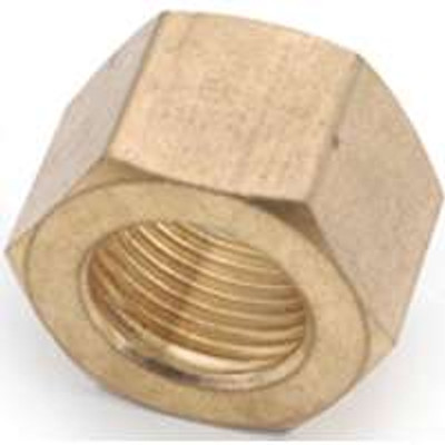 "Compression Fittings, 1/2"",Nut, Brass"