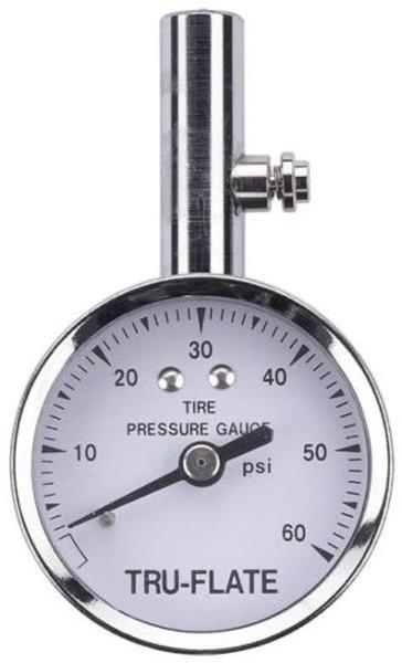 Tire Pressure Dial Gauge, 10 - 60 PSI