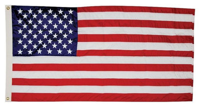 US Flag,  3' x  5', Perma-Nylon, Presidential Series
