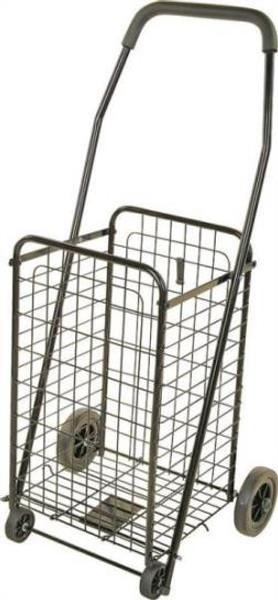 Shopping Cart,  85 Lb Capacity, Black