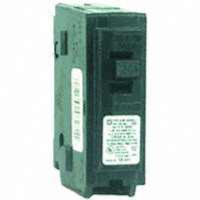 Square D, HOM120CP, HOMELINE, 20 Amp 1 Pole Circuit Breaker